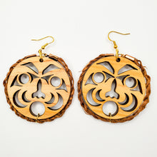 Load image into Gallery viewer, People of the Cedar earrings with Cedar Rope