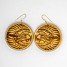 Load image into Gallery viewer, Raven earrings