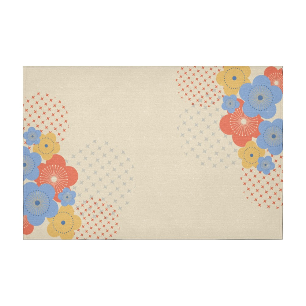 Japan (52) - Cotton Linen Tablecloth