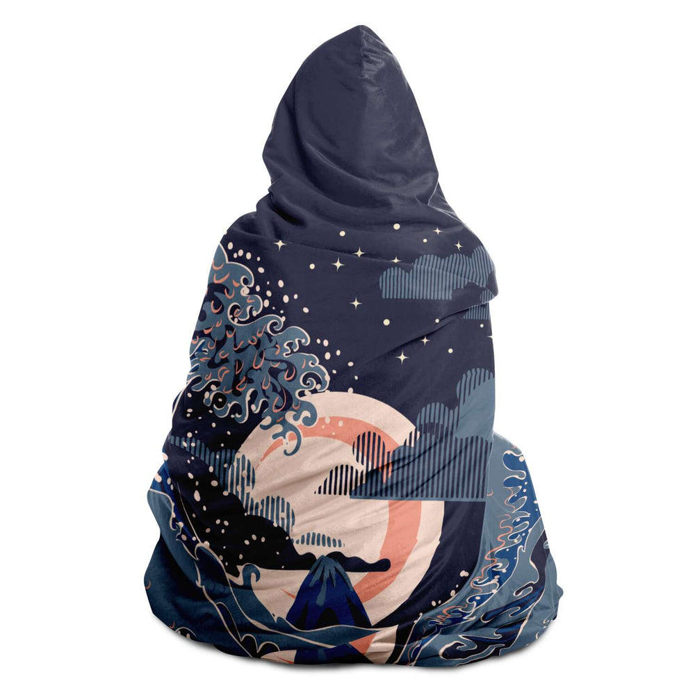 Japan (30) - Hooded Blanket