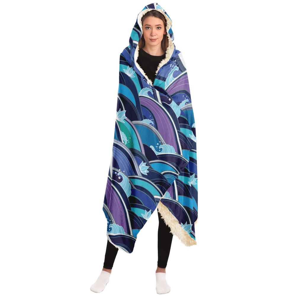 Japan (60) - Hooded Blanket