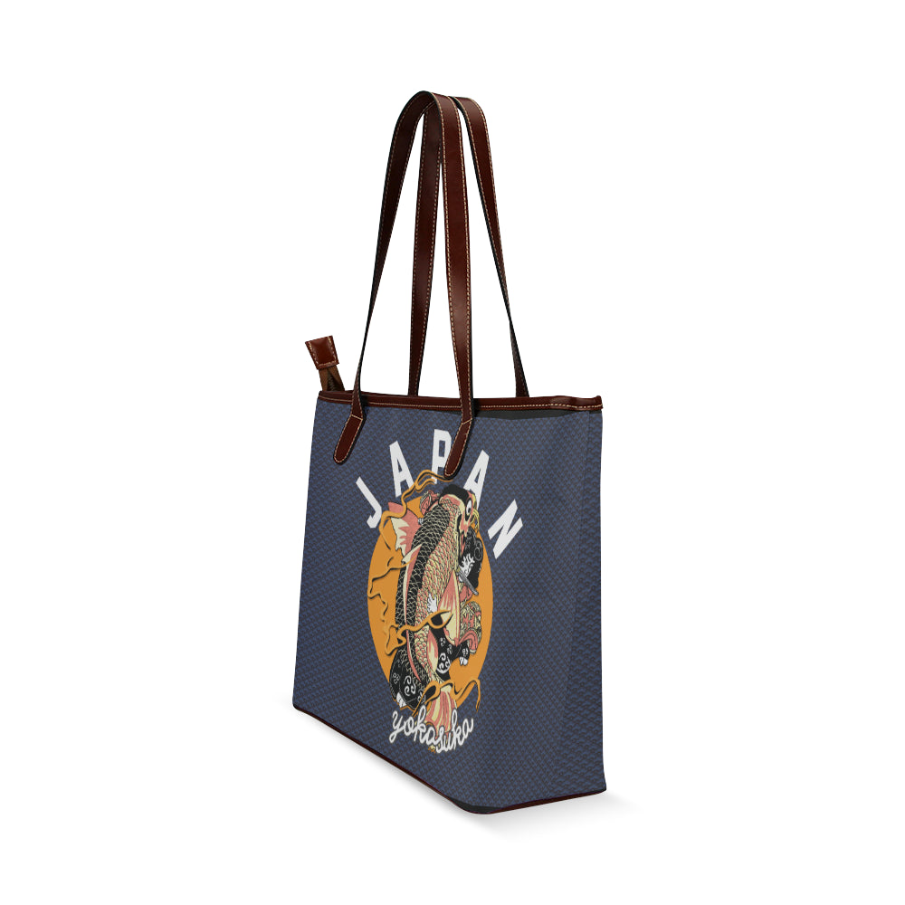 Koi Yokasuka - Shoulder Tote Bag