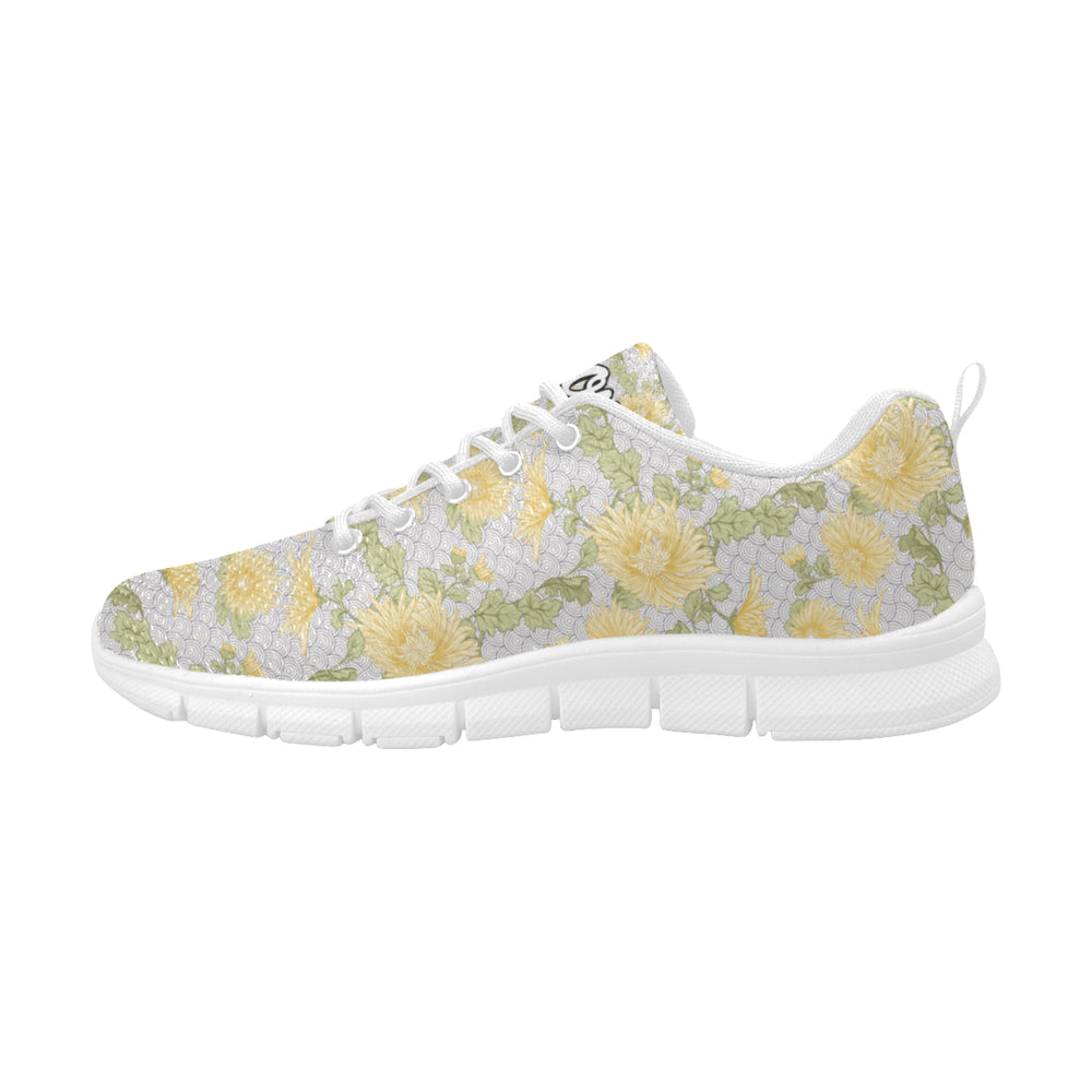 Yellow Flower - Women's Running Shoes