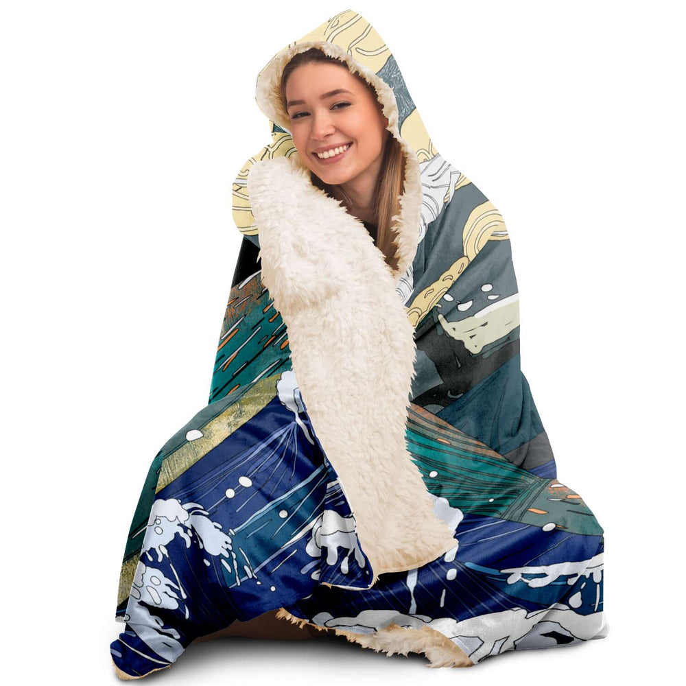 Japan (42) - Hooded Blanket