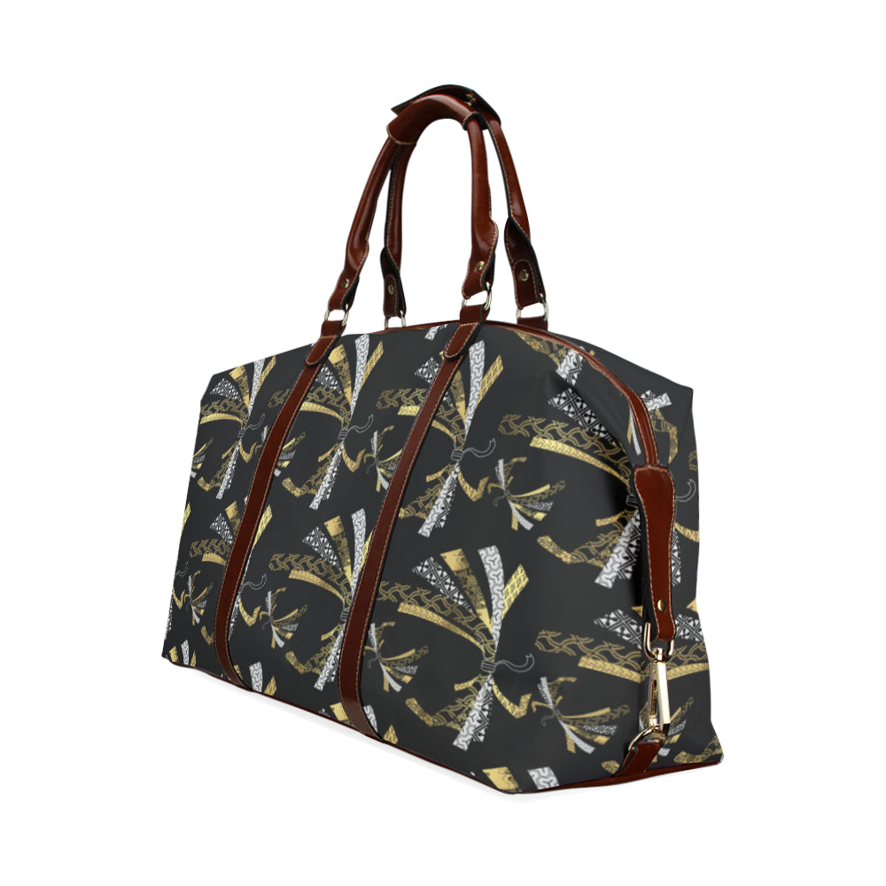 Golden Papers - Classic Travel Bag