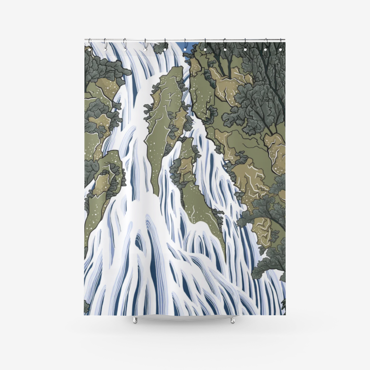Water Fall - Shower Curtain
