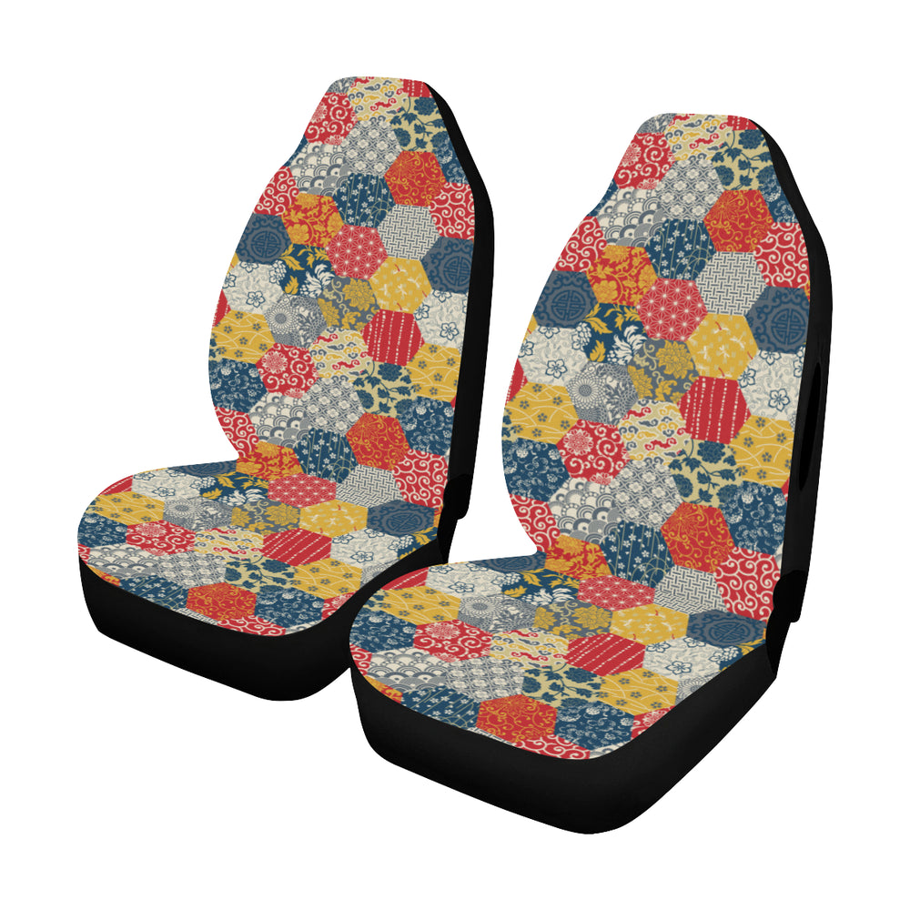 Japaness Pattern - Car Seat Cover (Set of 2)