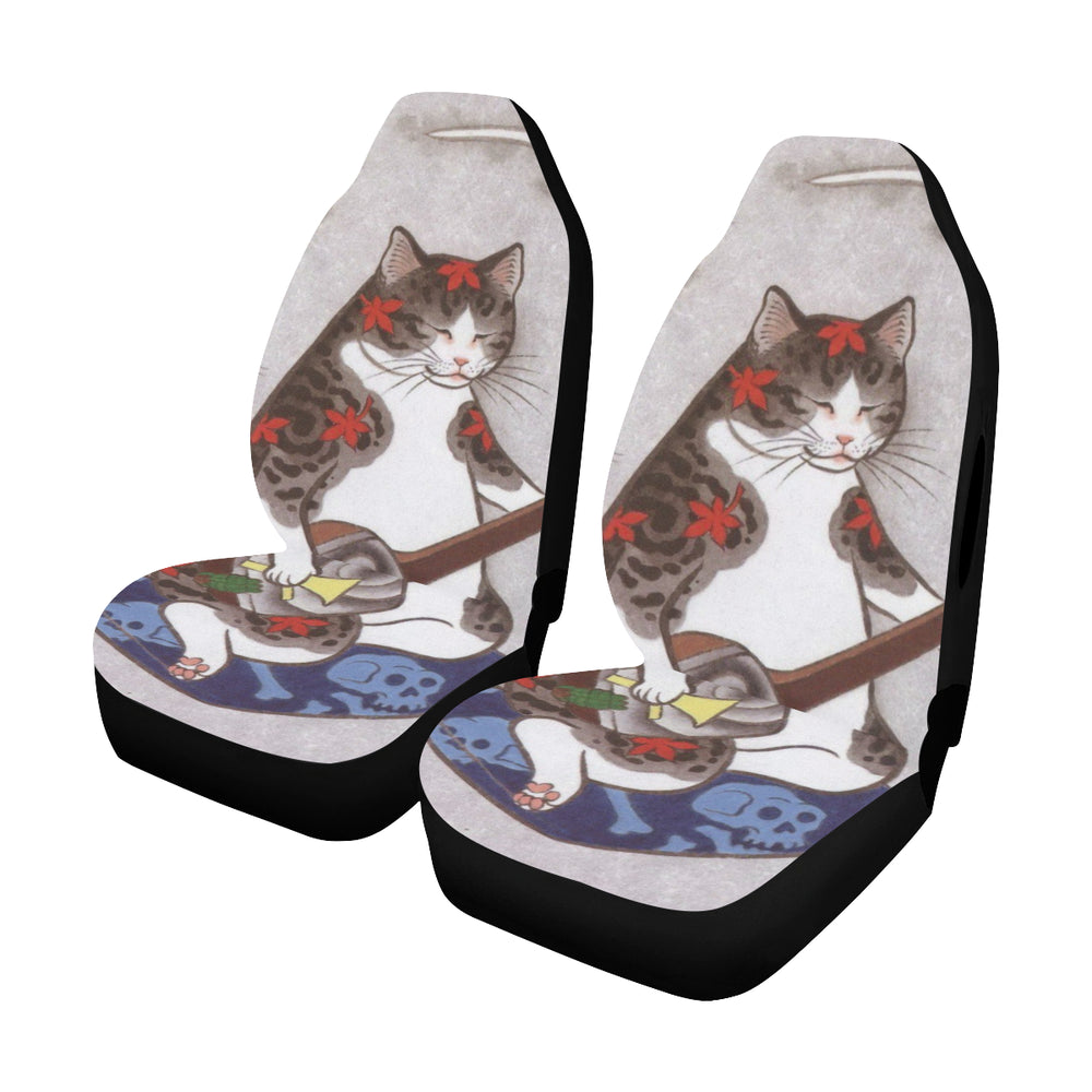 Cat - Car Seat Cover (Set of 2)