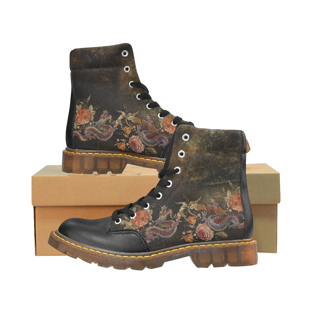 Dragon and Rose - Men's Winter Boots