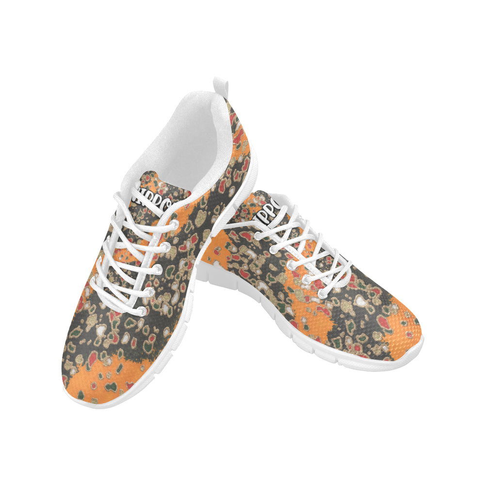 Abstract (Orange) - Women's Running Shoes