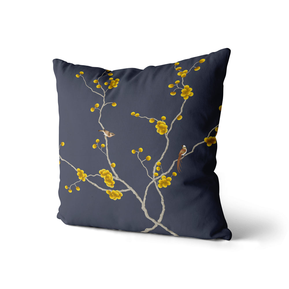 Flower and Birds - Pillow Case
