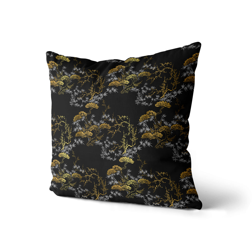 Golden Bonsai - Pillow Case