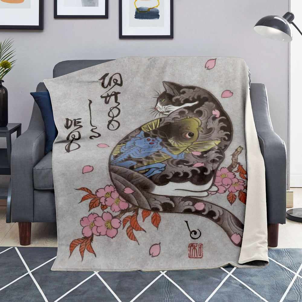 Japan (23) - Super Soft Plush Blanket