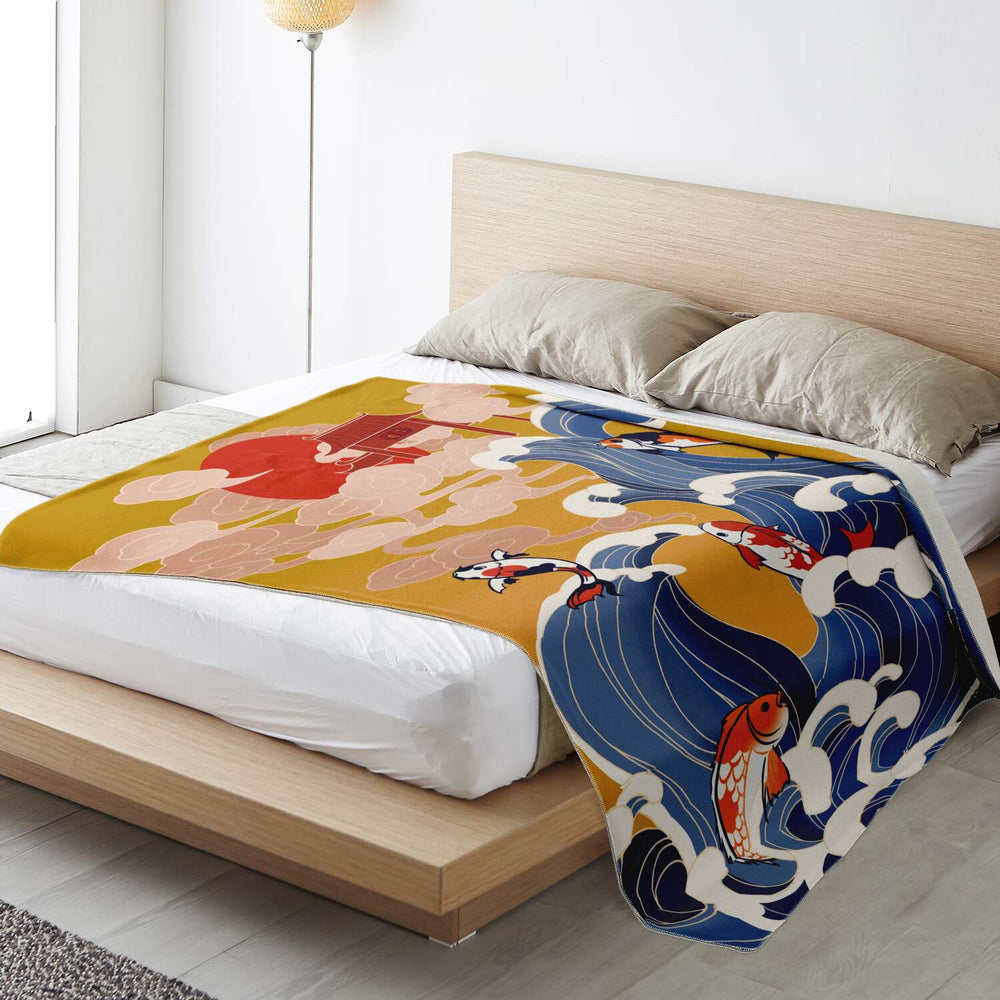 Japan (28) - Super Soft Plush Blanket