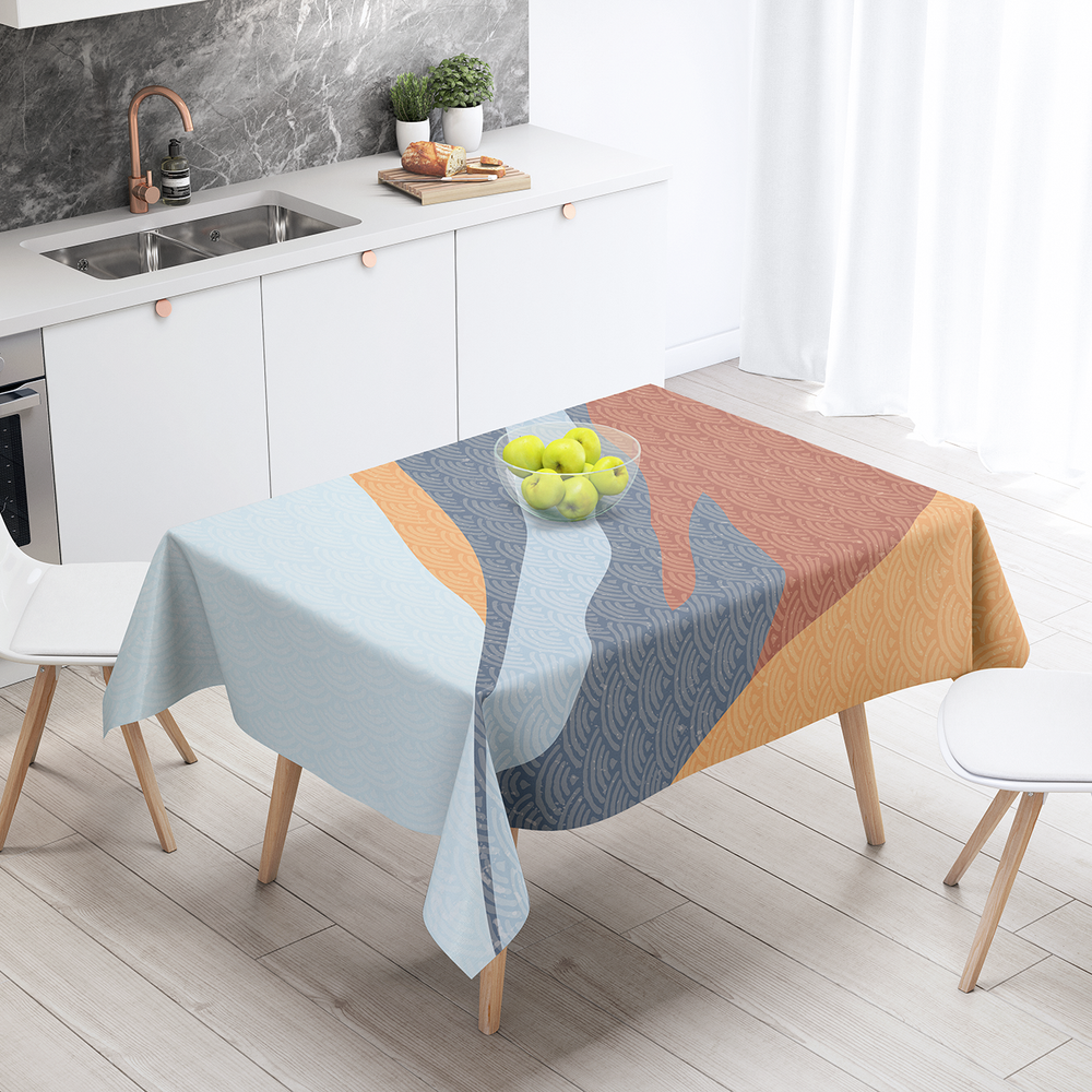 Japan (39) - Cotton Linen Tablecloth