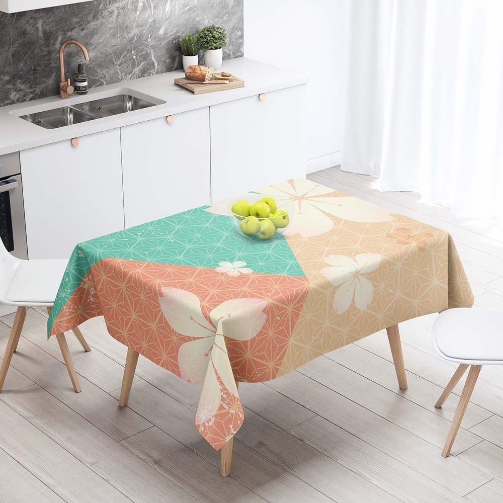 Japan (44) - Cotton Linen Tablecloth