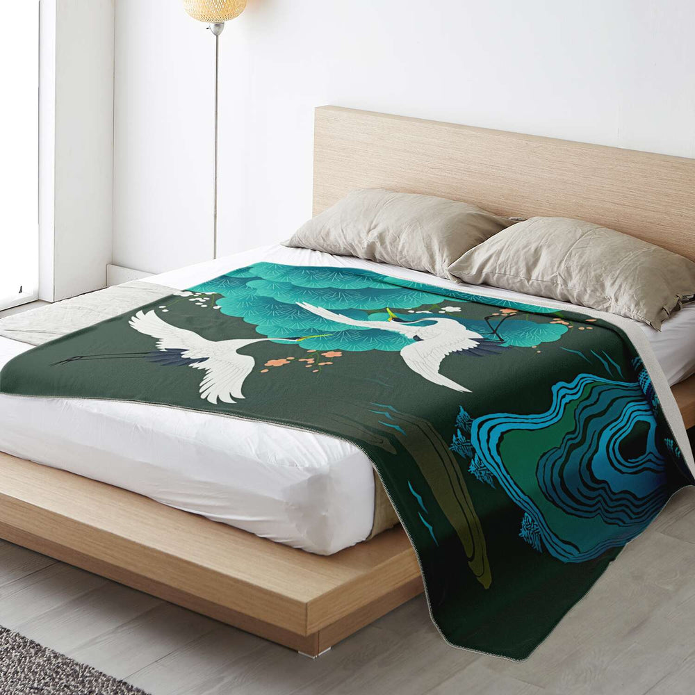 Japan (56) - Super Soft Plush Blanket