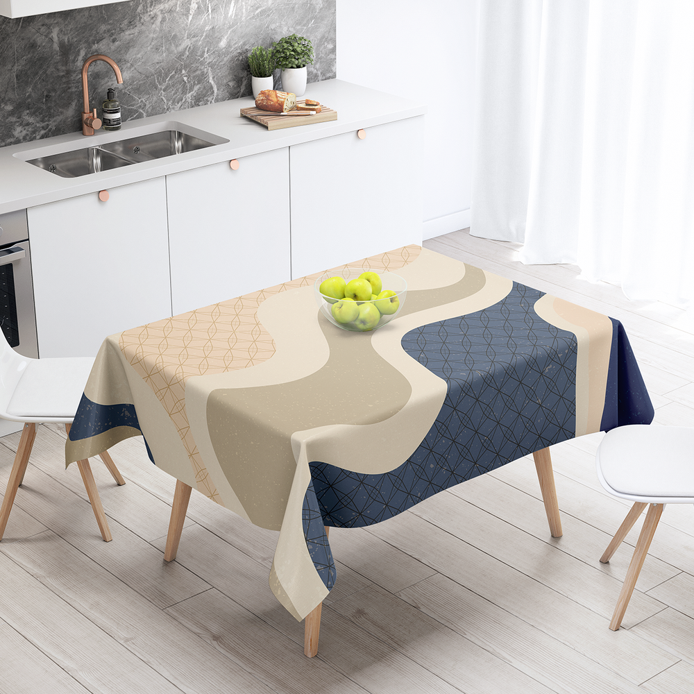 Japan (57) - Cotton Linen Tablecloth