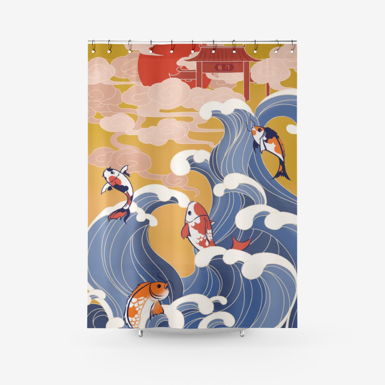 KOI - Shower Curtain