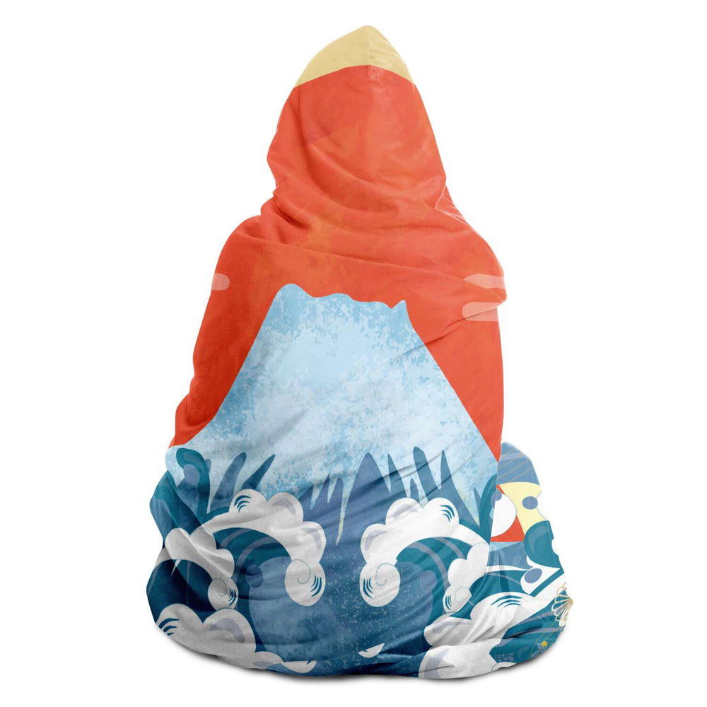 Japan (50) - Hooded Blanket