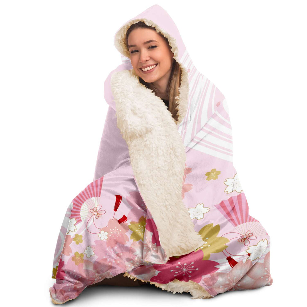 Japan (51) - Hooded Blanket