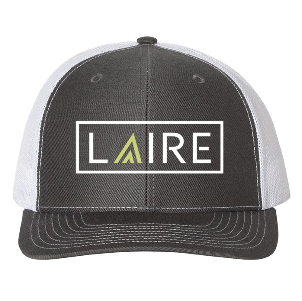 LAIRE Trucker Hat - Charcoal with Margarita Salt Icon