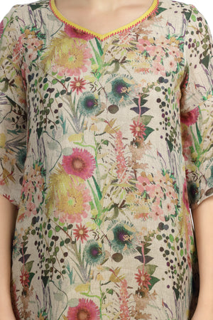 Load image into Gallery viewer, Botanical Print Tunic