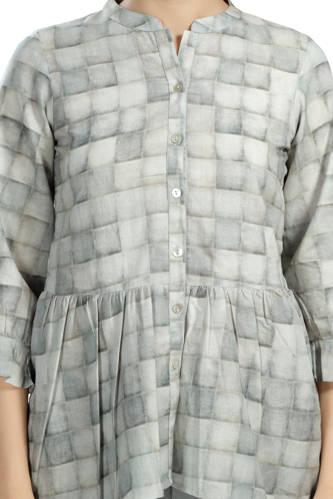Load image into Gallery viewer, Brick Printed Co-ord Set