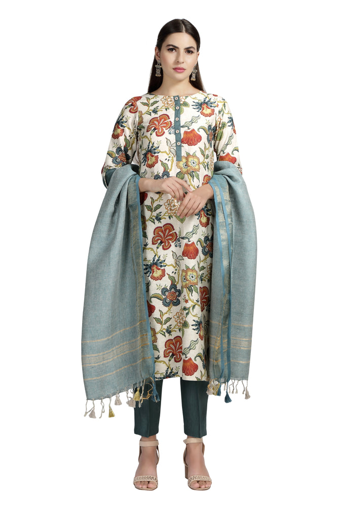 Chintz Printed Tunic & Pant Set
