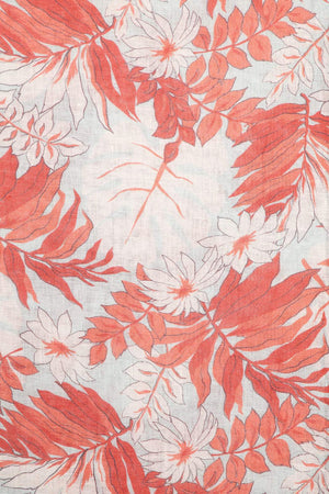 Load image into Gallery viewer, Tropicana Printed Linen Scarf