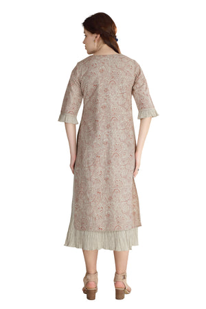 Load image into Gallery viewer, Rust Paisley Dress