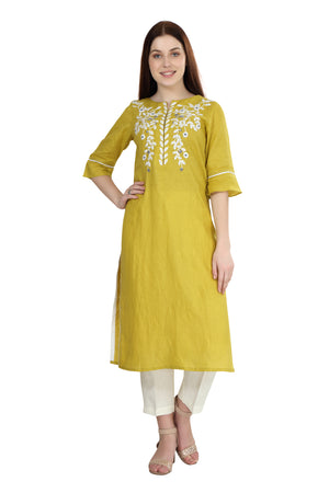 The Mustard Field Tunic