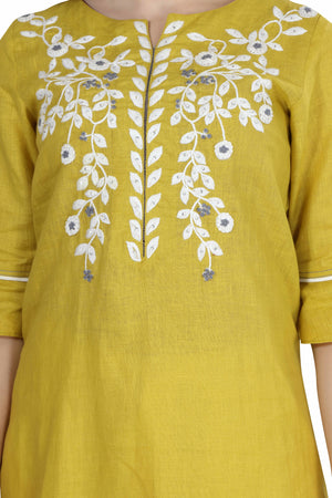 Load image into Gallery viewer, The Mustard Field Tunic