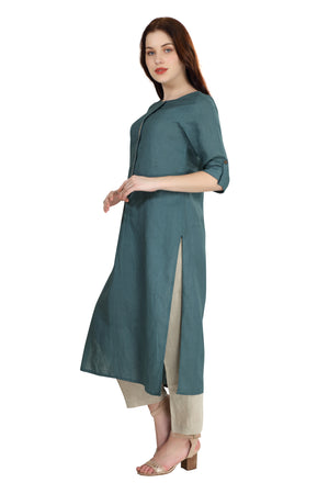 Emerald Blue Tunic