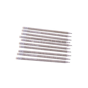Pencils - Made of Recycled Newspapers (Pack of 10)
