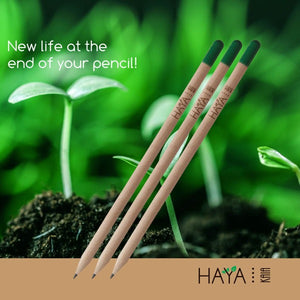 Plantable Seed Pencils (Set of 5)