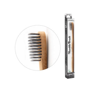 Bamboo Toothbrush (Charcoal Infused) - Adult