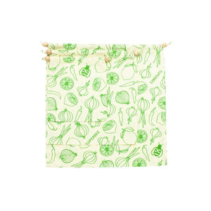 Reusable Produce Bags - Cotton (Set of 3).