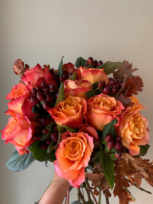 Bouquet Roses Seasonal - fleurissantshop