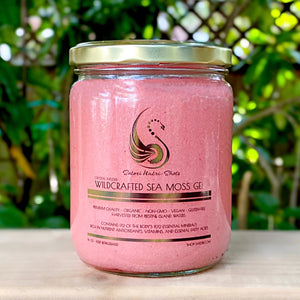 Crystal Infused Sea Moss Gel -Dragon Fruit Pineapple