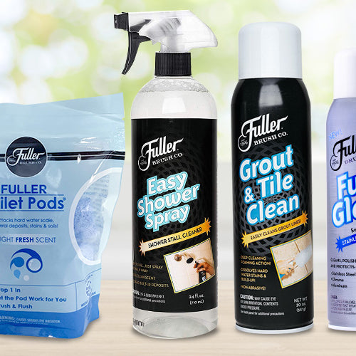 Fuller Brush Company Cleaning Agents- The Best for My Bathroom