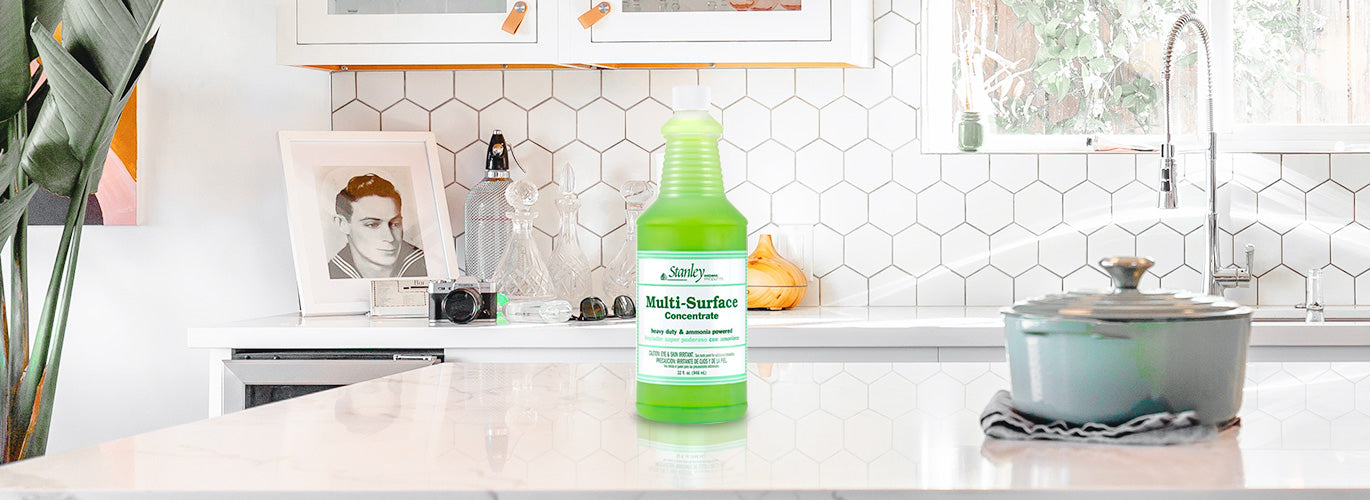 Fuller Brush Surface Cleaner Countertop & Tile Cleaner Concentrate w/ Ammonia