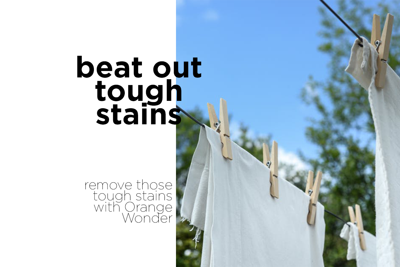 Beat Out Tough Stains