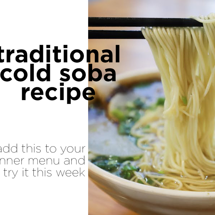 Traditional Cold Soba