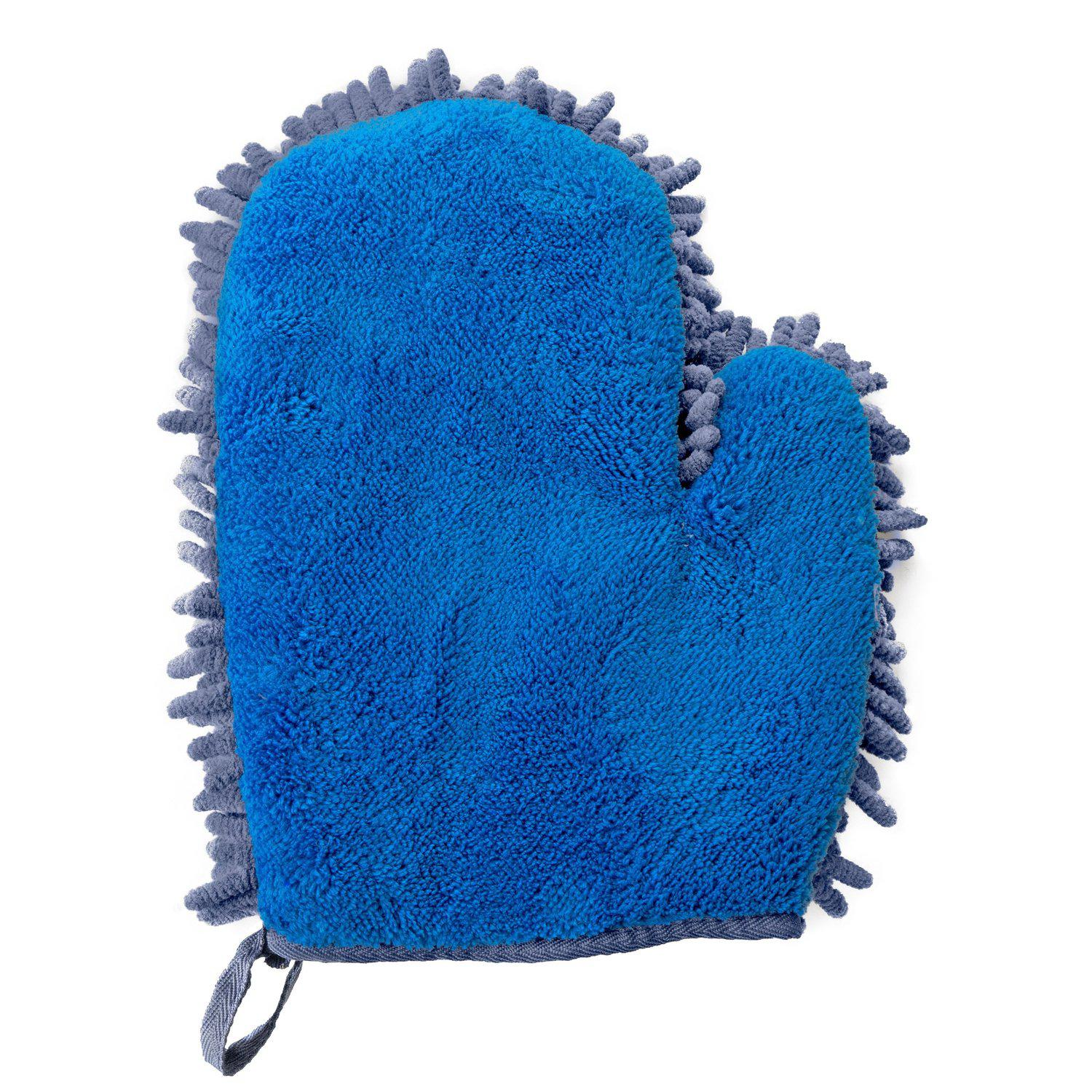 2 in 1 Clean & Polish Microfiber Mitt-Scrubbers-Fuller Brush Company