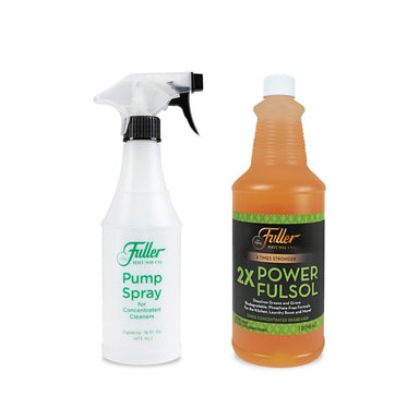 2X Power Fulsol Degreaser + Fuller Pump Spray Bottle-Degreasers-Fuller Brush Company