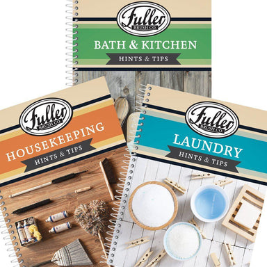 3 Book Set (Includes: Laundry, Bath & Kitchen, Housekeeping Books)-Fuller Books-Fuller Brush Company