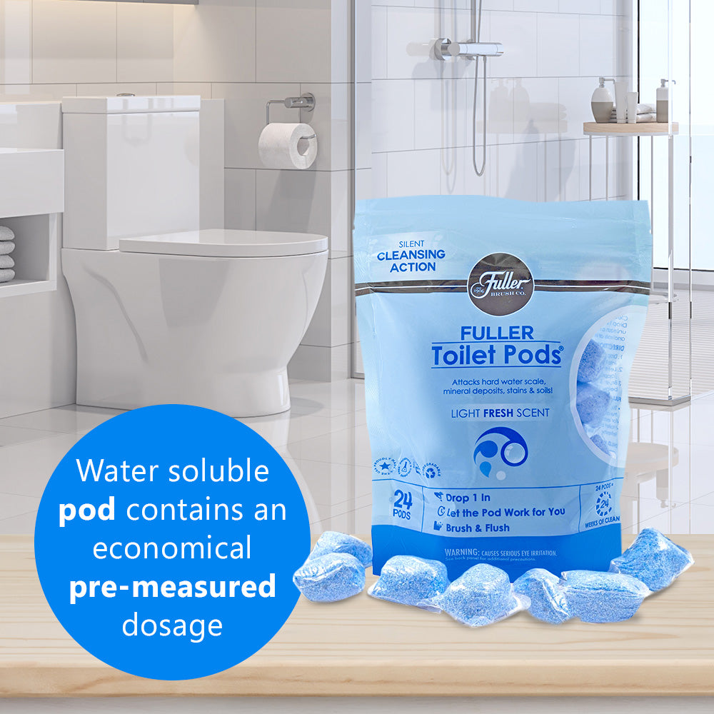 Toilet Pods® Drop in Toilet Bowl Cleaner (Pack of 2)