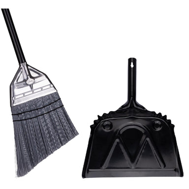 Angle Broom With Metal Dustpan-Brooms & Dustpans-Fuller Brush Company
