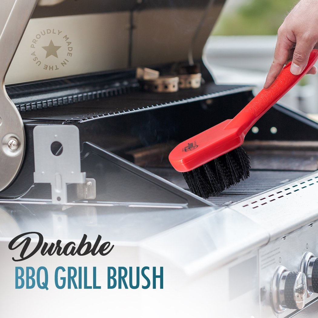 Barbecue Grill Brush W/ Nylon Bristles - Safe for Ceramic, Porcelain, Teflon, Non-Stick Grills-Cleaning Brushes-Fuller Brush Company